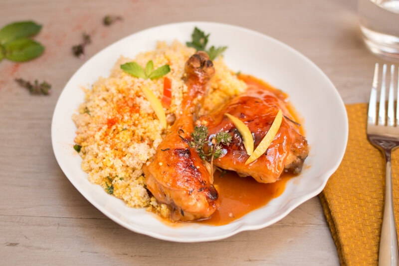 Poulet new orleans style