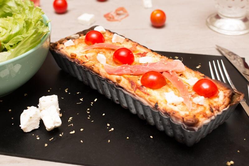 Tarte tomate feta