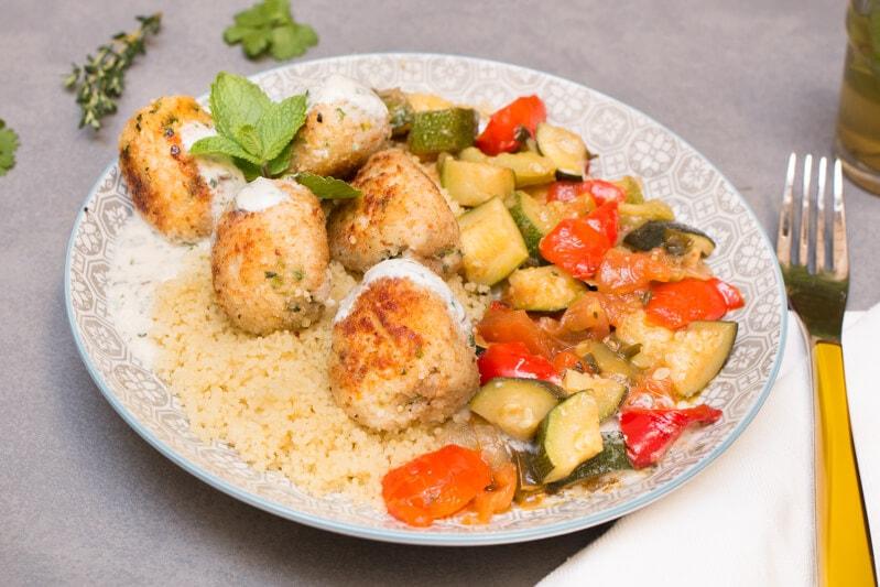 Boulettes de poulet à la marocaine