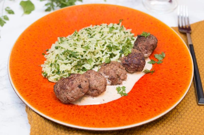 Boulettes riz safrané