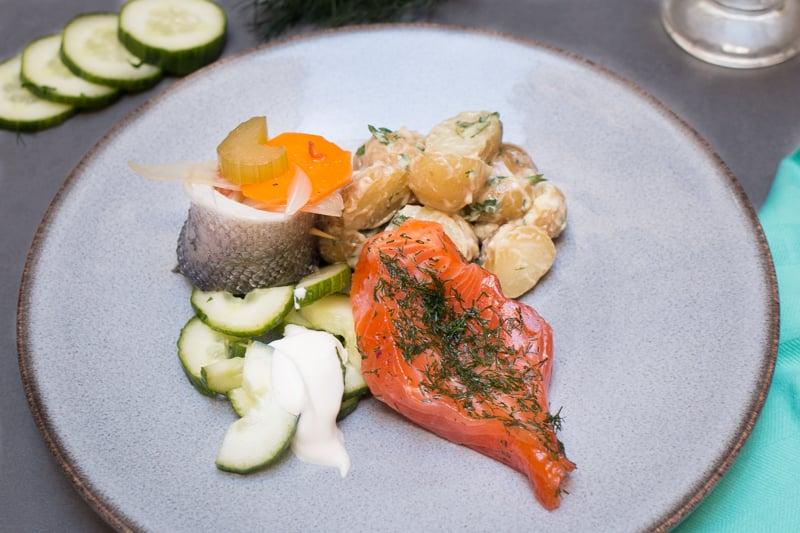 Assiette scandinave