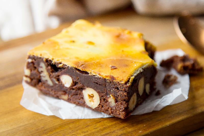 Brownie marbre