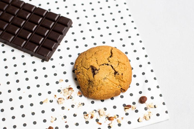 Cookie chocolat noisettes