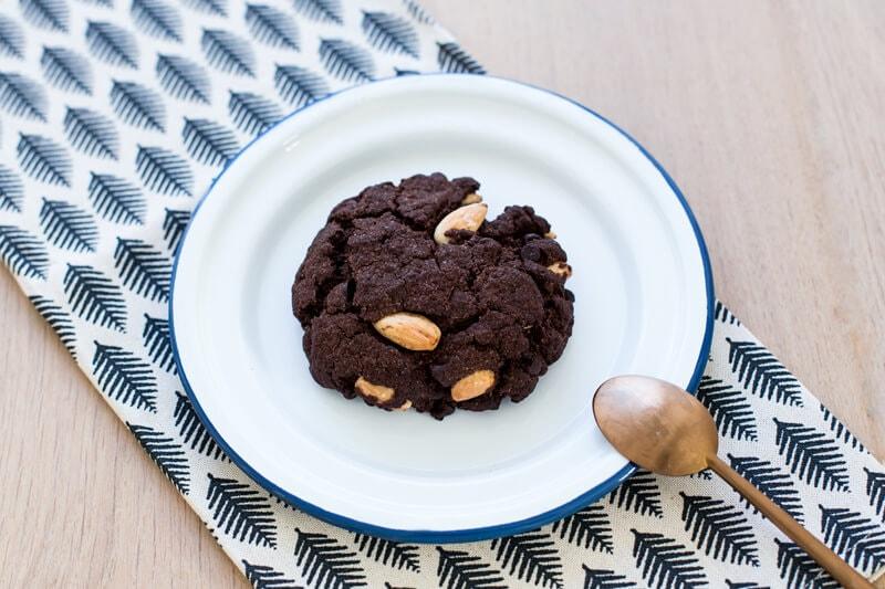 Cookie double chocolat amande