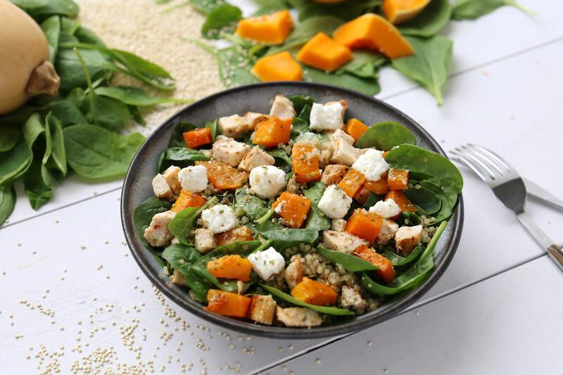 Spinach salade