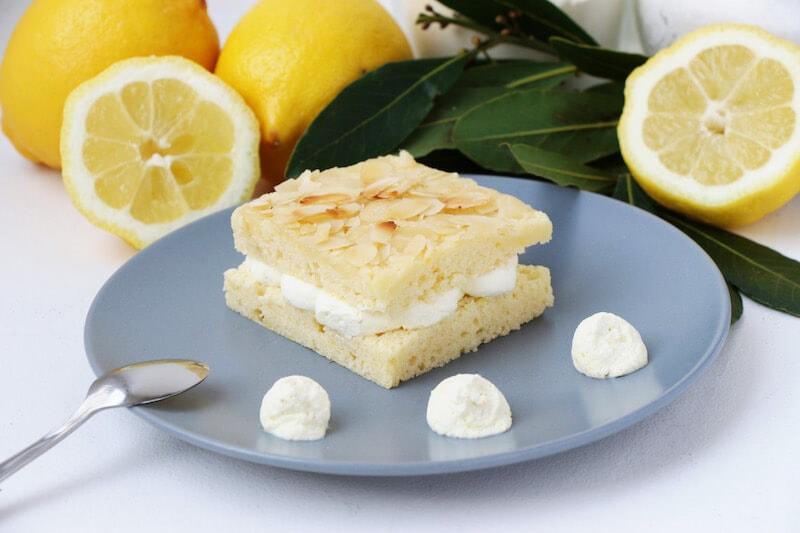 Moelleux citron amandes