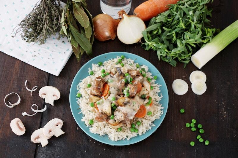 Blanquette riz