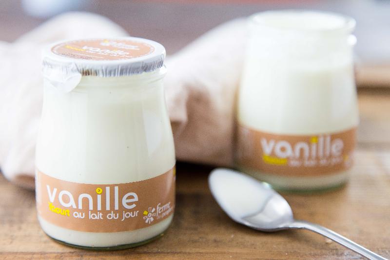 Yaourt vanille ferme des peupliers