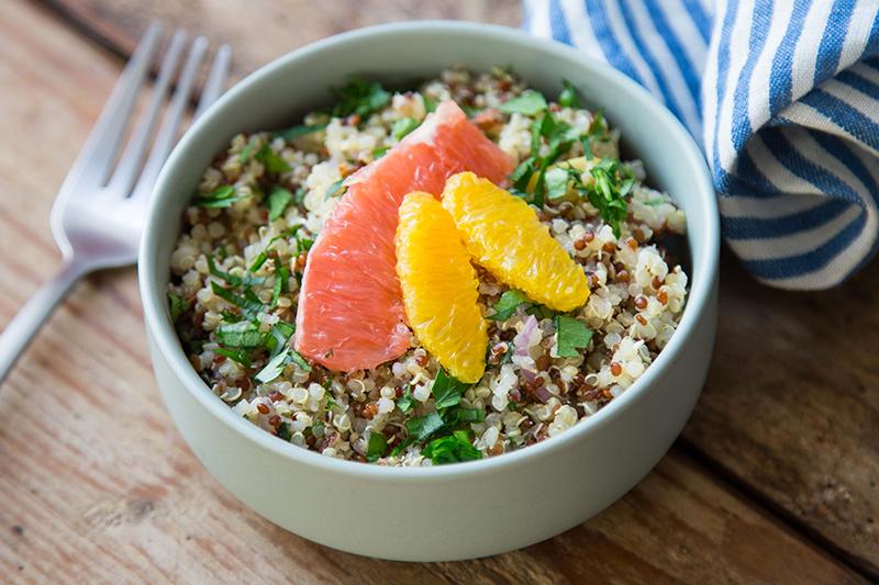 Duo agrumes quinoa