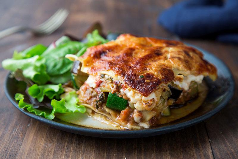 Lasagne ricotta épinards